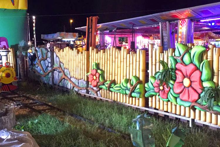 parete esterna trenino
